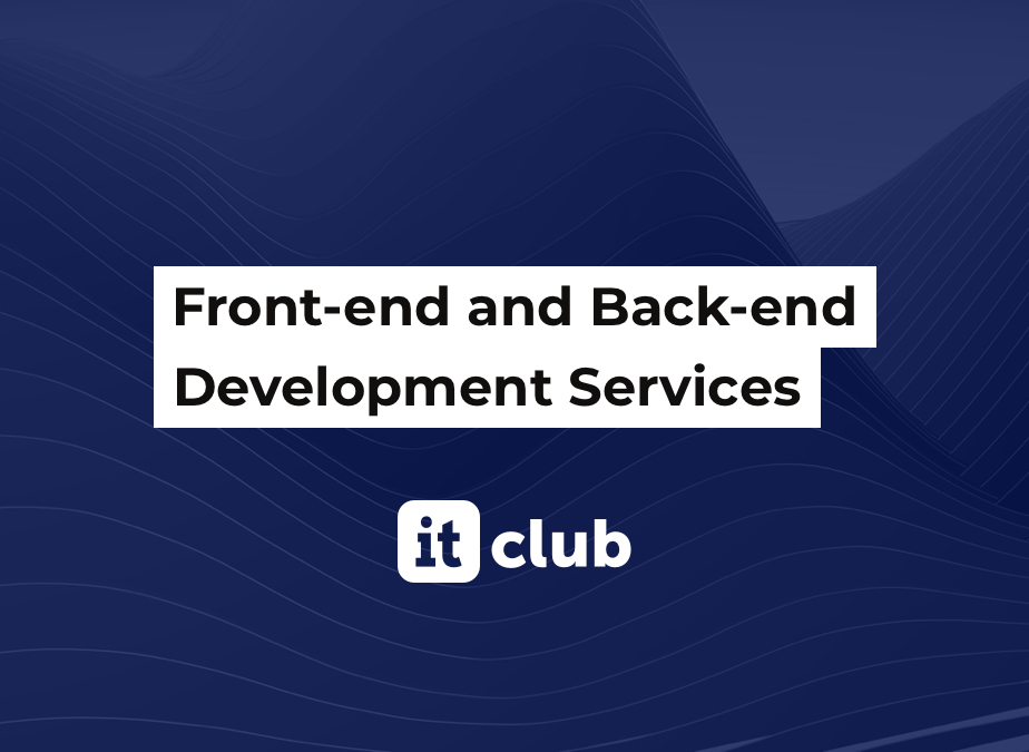 Front-End And Back-End Development (Tips And Portfolio)